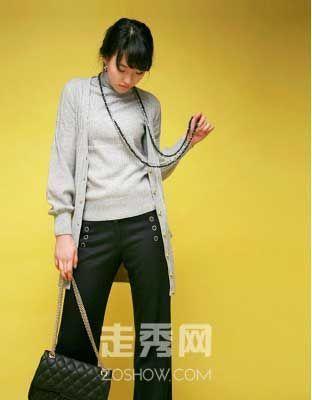 韩国秋冬流行针织衫 长款开衫引领潮流
