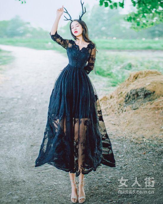 曼妙蕾丝,轻熟女也能是撩人小妖精