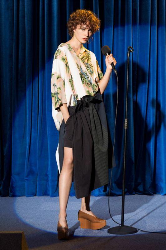 复古舞台的演绎Stella McCartney2018早春系列